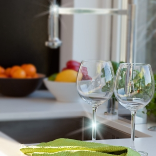 """Полотенца кухонные """"Блеск"""" (2 шт.) 40х60, зеленые"""